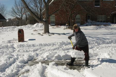 Yard and walk maintenance