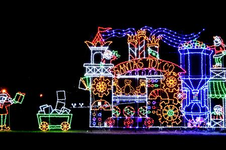 Bull Run Festival of Lights and Holiday Village