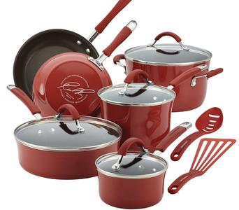 Rachael Ray 12pc Cookware Set