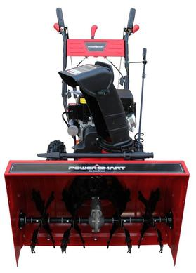 Power Smart DB7651 24 inch 208cc LCT Two-Stage Snow Thrower with Electric Start