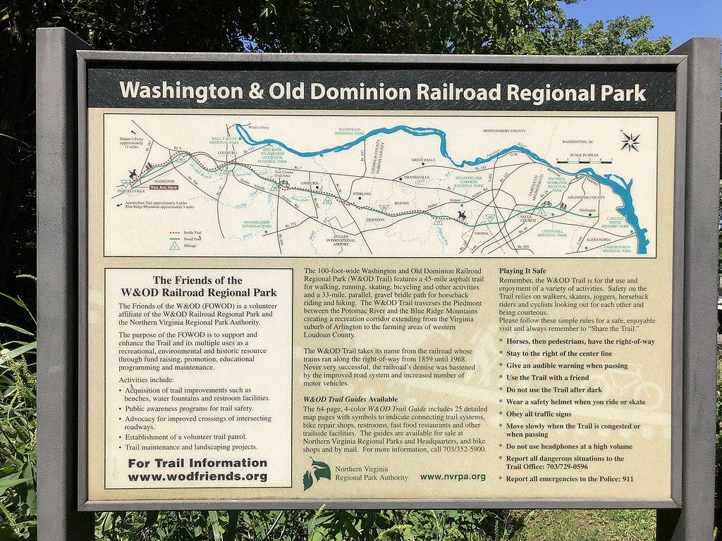 W&OD Horseback Trail